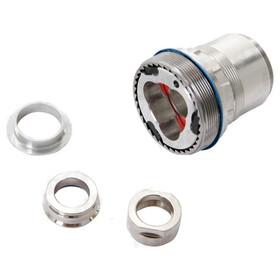 Fulcrum Kit adaptateur roue arrière - roue arrière 12x135/142mm axe de roue, roue libre SRAM XD argent
